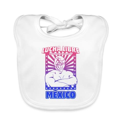 Lucha Libre Mexico Esfumado - Babero ecológico bebé