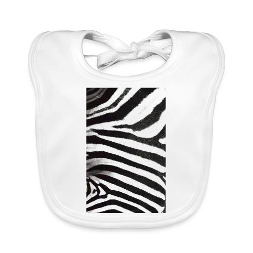 Zebra phone case - Baby Organic Bib