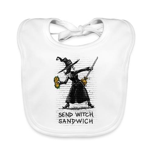 Send Witch Sandwich - Baby Organic Bib