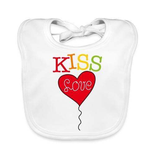 HEART LOVE - Bio-slabbetje voor baby's