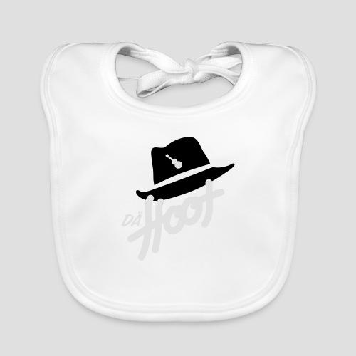 daeHoot_Shirt_Logo2_2c - Baby Bio-Lätzchen