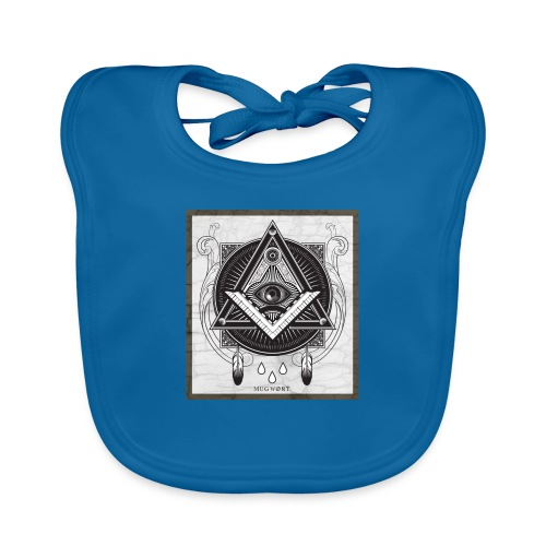 Illuminati - Bavoir bio Bébé