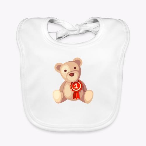 Teddy Bear - Organic Baby Bibs