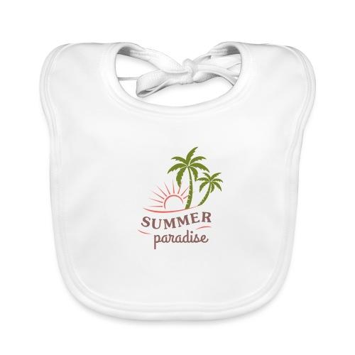Summer paradise - Organic Baby Bibs