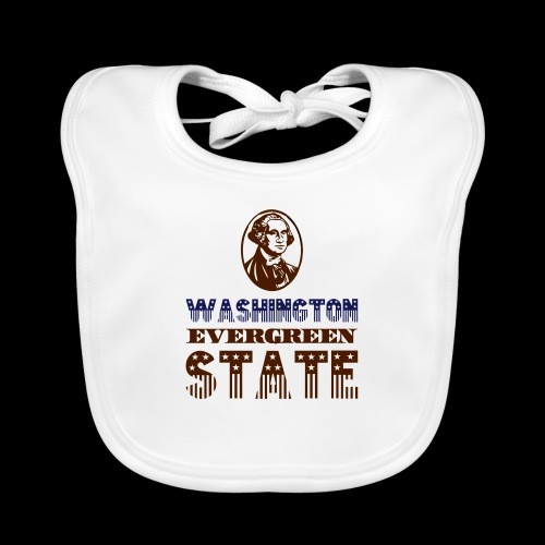 WASHINGTON EVERGREEN STATE - Baby Organic Bib