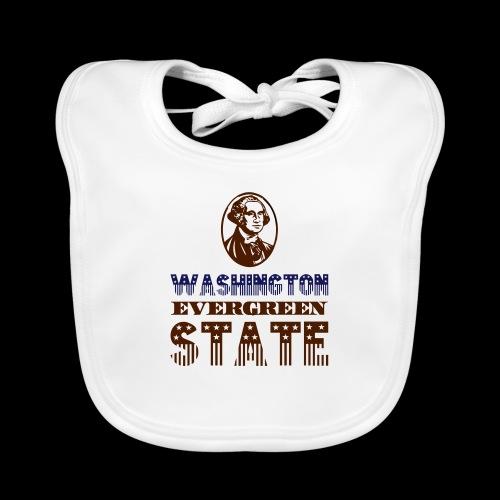 WASHINGTON EVERGREEN STATE - Organic Baby Bibs