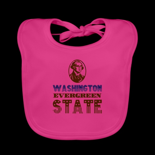 WASHINGTON EVERGREEN STATE - Baby Organic Bib