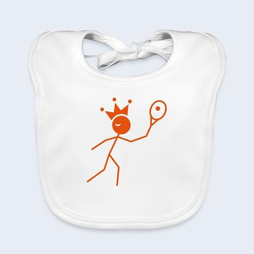 Tenniskoning - Bio-slabbetje voor baby's