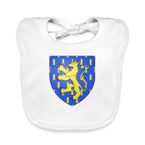 Blason de la Franche-Comté avec fond transparent - Bavoir bio Bébé