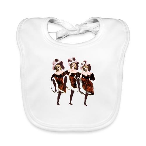 Vintage Dancers - Organic Baby Bibs