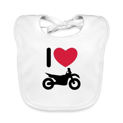 I love biking - Baby Bio-Lätzchen