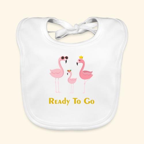 flamingo family ( ready to go ) - Organic Baby Bibs