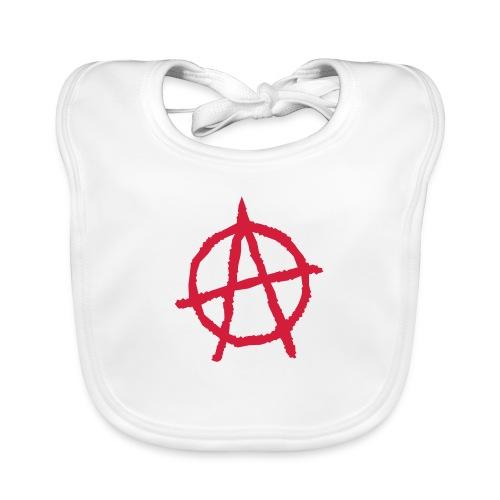 Anarchy Symbol - Organic Baby Bibs