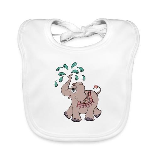 Elephant girl - Baby økologisk hagesmæk