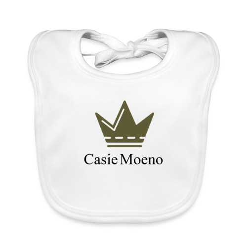 Casie Moene crewneck - Baby Organic Bib