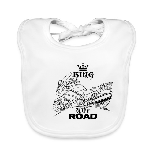 0882 FJR KING of the ROAD - Bio-slabbetje voor baby's
