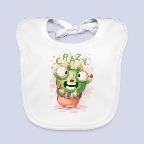 Crazy funny monster design for everyone - Baby Organic Bib