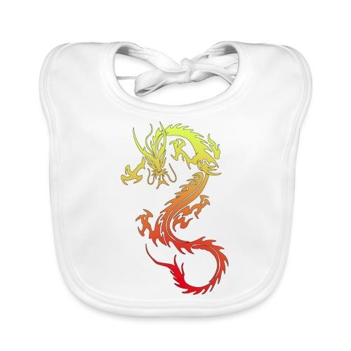Golden Dragon - Baby Organic Bib