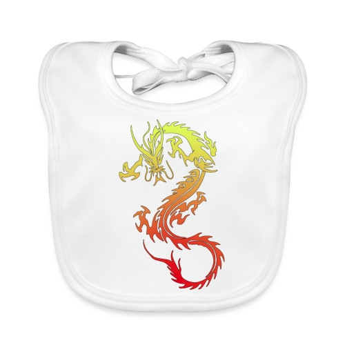 Golden Dragon - Organic Baby Bibs
