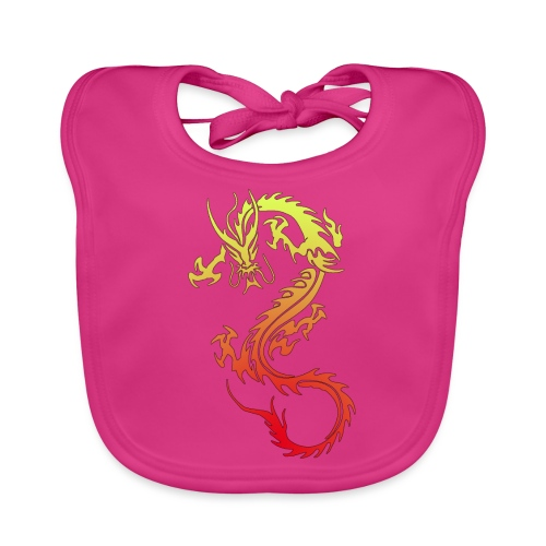 Golden Dragon - Baby Organic Bib