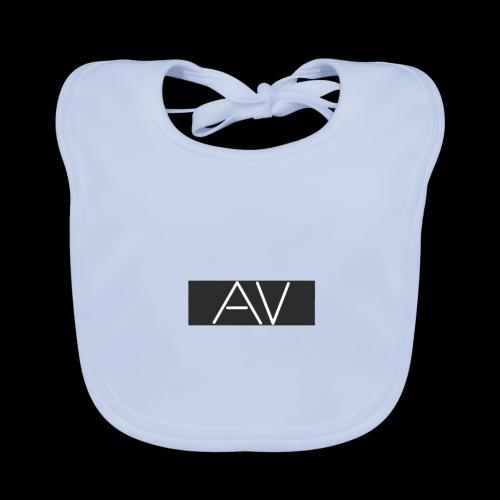 AV White - Baby Organic Bib