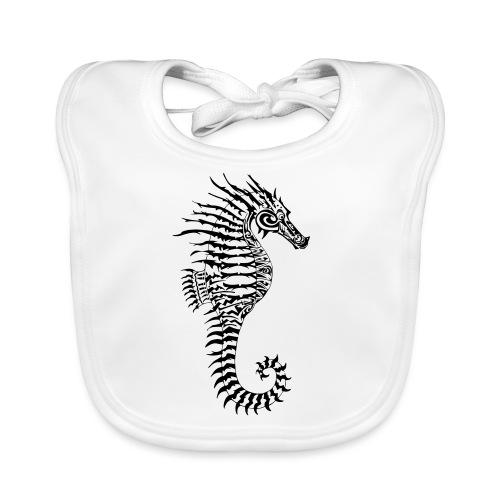 Alien Seahorse Invasion - Baby Organic Bib