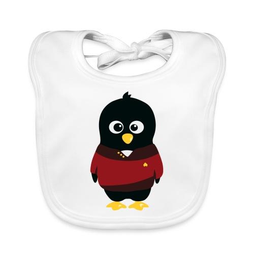 Pingouin Starship - Bavoir bio Bébé