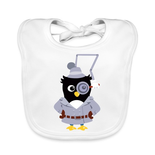 Pingouin Gadget - Bavoir bio Bébé