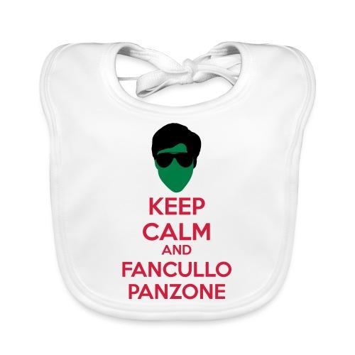 Fancullo panzone Keep Calm - Bavaglino ecologico per neonato