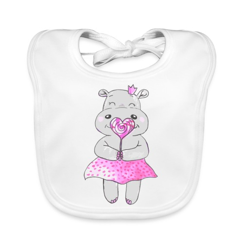 Happy Hippo - Baby Bio-Lätzchen