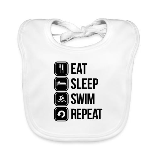 zwemmen - Bio-slabbetje voor baby's