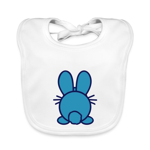 baby konijntje - Bio-slabbetje voor baby's