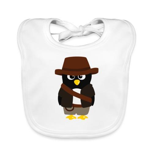 Pingouin Indiana - Bavoir bio Bébé