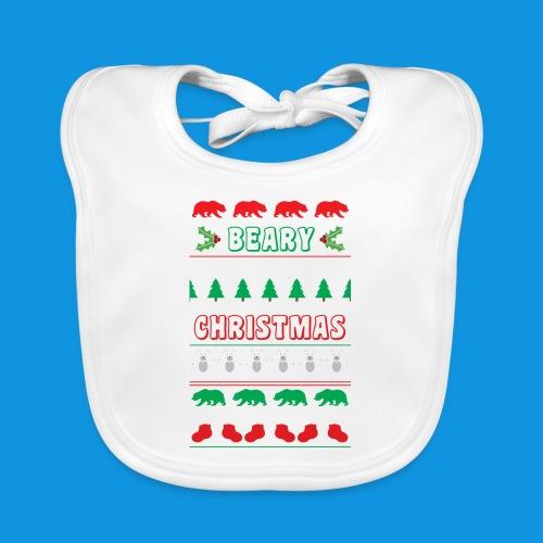 Beary Christmas.png - Baby Organic Bib