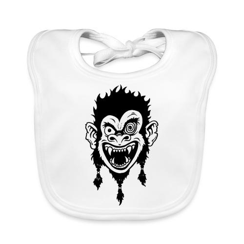 Crazy Monkey - Baby Bio-Lätzchen