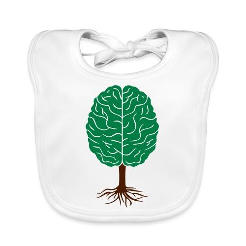 Brain tree - Bio-slabbetje voor baby's