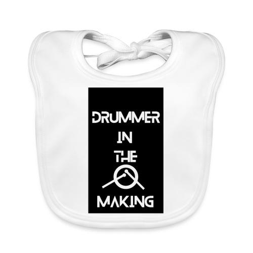 Drummer in the making black - Hagesmække af økologisk bomuld
