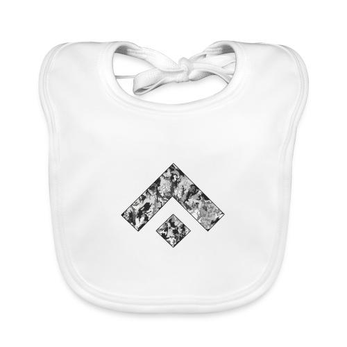Logo Design - Babero de algodón orgánico para bebés