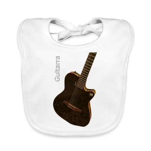 Guitarra inclinada - Organic Baby Bibs