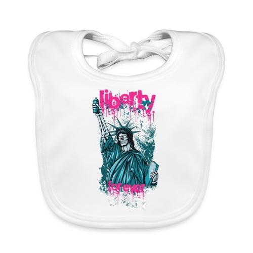 Liberty for ever - Babero ecológico bebé
