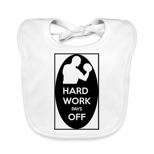 hard work pays off 2 cup.jpg - Organic Baby Bibs