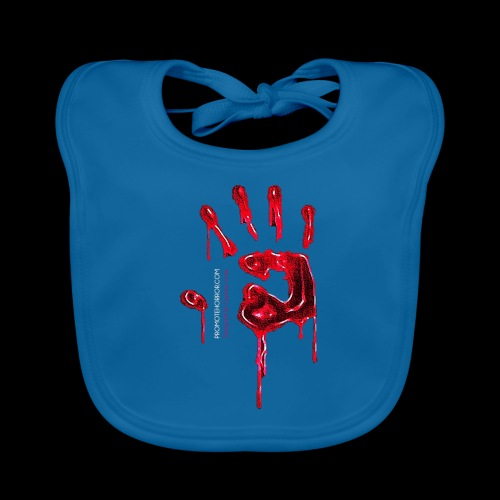 Promote Horror Blood-Soaked Hand - Organic Baby Bibs