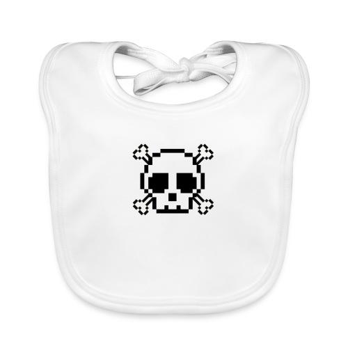 Scripted. Skull - Baby Organic Bib