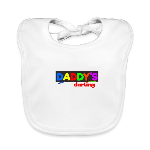 Baby Body mit Papas Liebling Design - Baby Bio-Lätzchen
