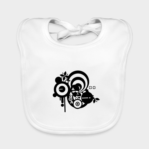 YA ESTAN AQUI - Babero de algodón orgánico para bebés