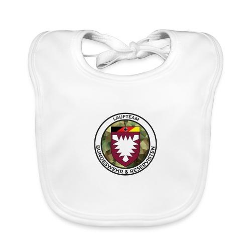 Logo des Laufteams - Baby Bio-Lätzchen