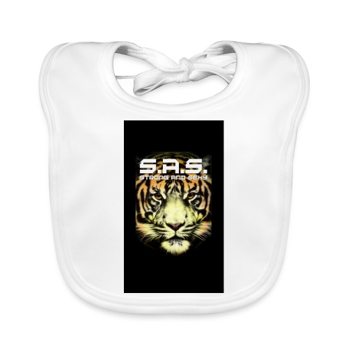sas tiger wide jpg - Bio-slabbetje voor baby's