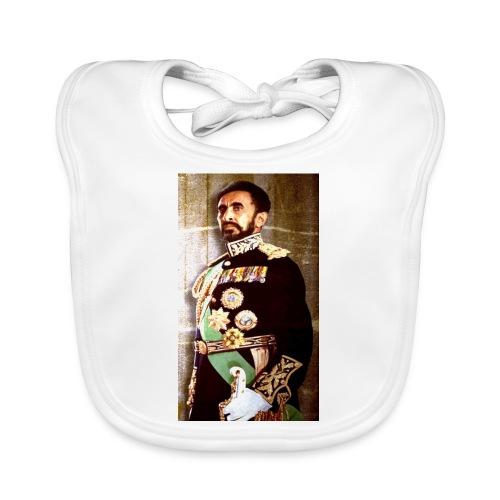 Haile Selassie Trajado jpg - Baby Bio-Lätzchen