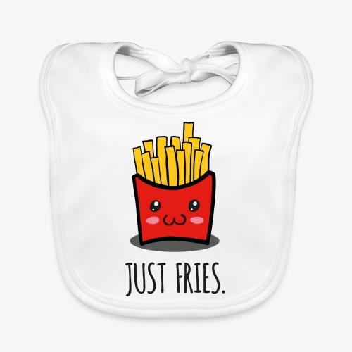 Just fries - Pommes - Pommes frites - Baby Bio-Lätzchen