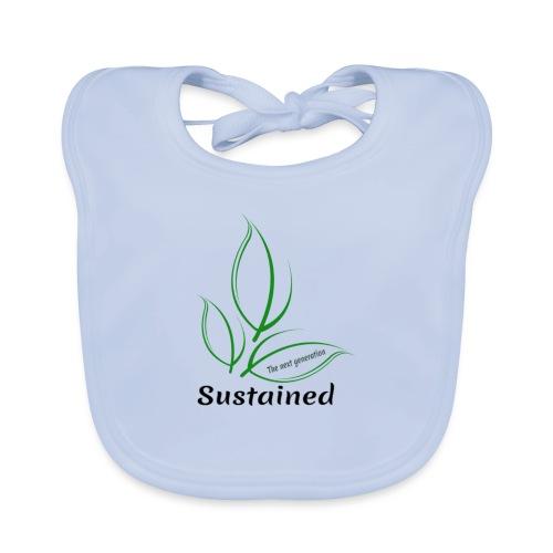 Sustained Sweatshirt - Baby økologisk hagesmæk